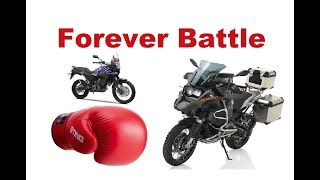 Adventure Motorcycle - Small or Big? What is the right size?