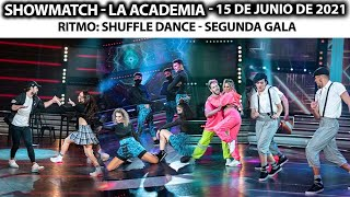 Showmatch - Programa 15/06/21 - Ritmo SHUFFLE: Karina, Cachete Sierra, Rocío Marengo y Angela Leiva