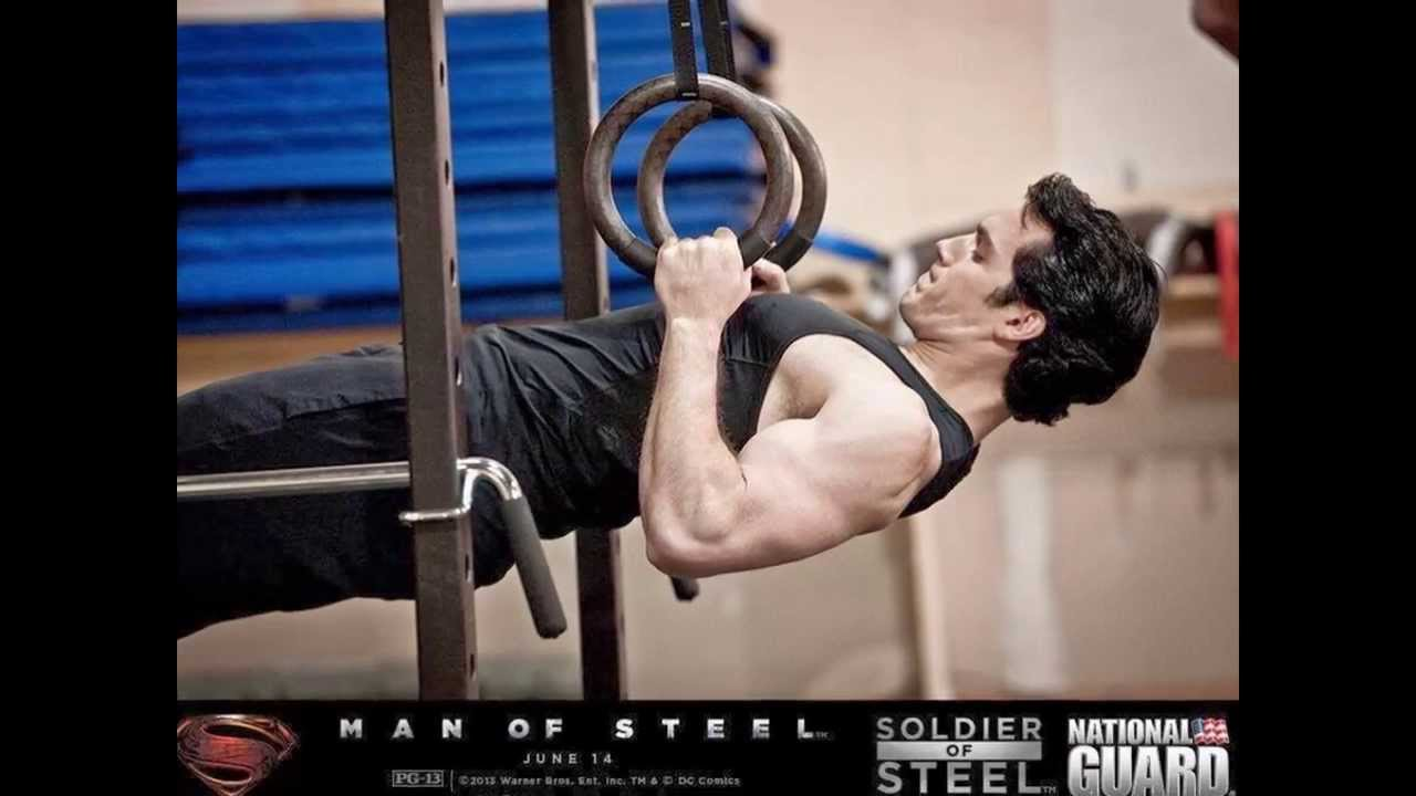 Henry Cavil Superman Workout Images **MUST SEE** - YouTube