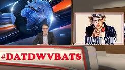 Ich bin Lichtdouble für Oliver Welke #DATDWVBATS