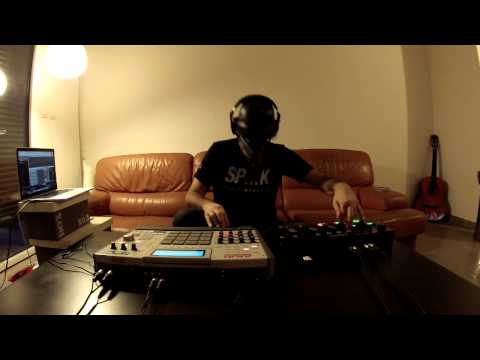 ODESZA  - Say My Name (feat  Zyra) -  Scarfinger remix - MPC x Boss RC 505 Loop Station