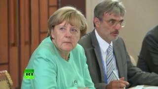 """Merkel sagt """"Dobroe utro"""", Putin antwortet """"Noch nicht"""" (G20-Gipfel in China)"""