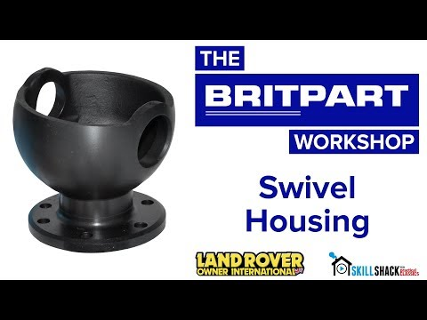 How to replace Land Rover swivel housings with a Britpart kit