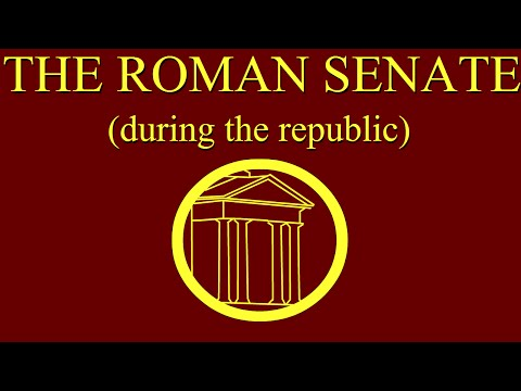 The Roman Senate during the Republic