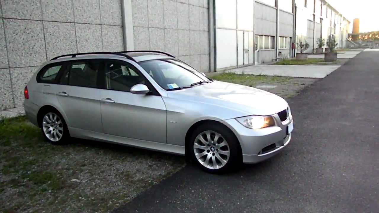 SAM_8517 BMW 320D TOURING AUT. 2006 CERCHI DA 17.mov - YouTube