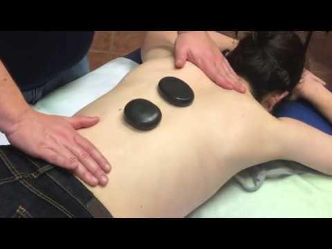 ASMR - Back Hot Stone Massage