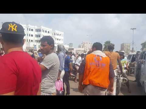 حملة ازالة العشوائيات في عدن(جولة القاهرة والشيخ عثمان )