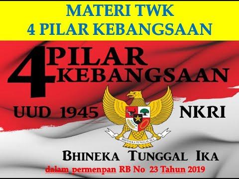 MATERI TWK PILAR NEGARA