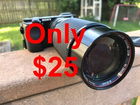 Best Secret Lens For Sony A6000  Only $25