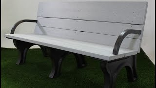 6ft Traditional Ada Bench