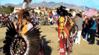 """Tucson Pow Wow, Native American Dancers"" 2 Jan. 11"