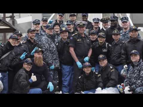 US Seventh Fleet's Sailor of the Year Award Ceremony