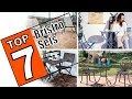 🌻 Review Of The Best Outdoor Bistro Set - 7 Patio Chairs and Table Set For Your Garden 2019