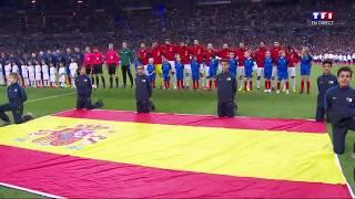 France-Espagne l'hymne espagnol
