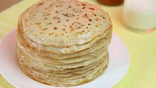 REZEPT | original französische Crêpes - dünne Pfannkuchen | SweetLifeSunShine