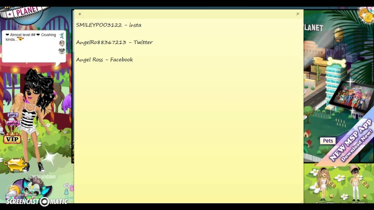lilpolojae show- FaceBook Name, Instagram Name, Twitter Name , & Kik Name, & A Shoutout - YouTube