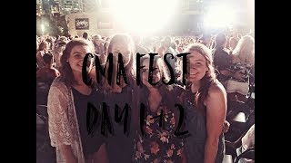 CMA Fest Day 1 & 2