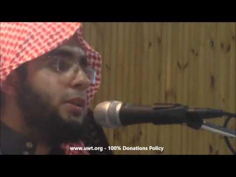 Muhammad Al Muqit - Syria Nasheed - UWT UK Tour - Huddersfield - صرخة مكلومة - للمنشد محمد المقيط