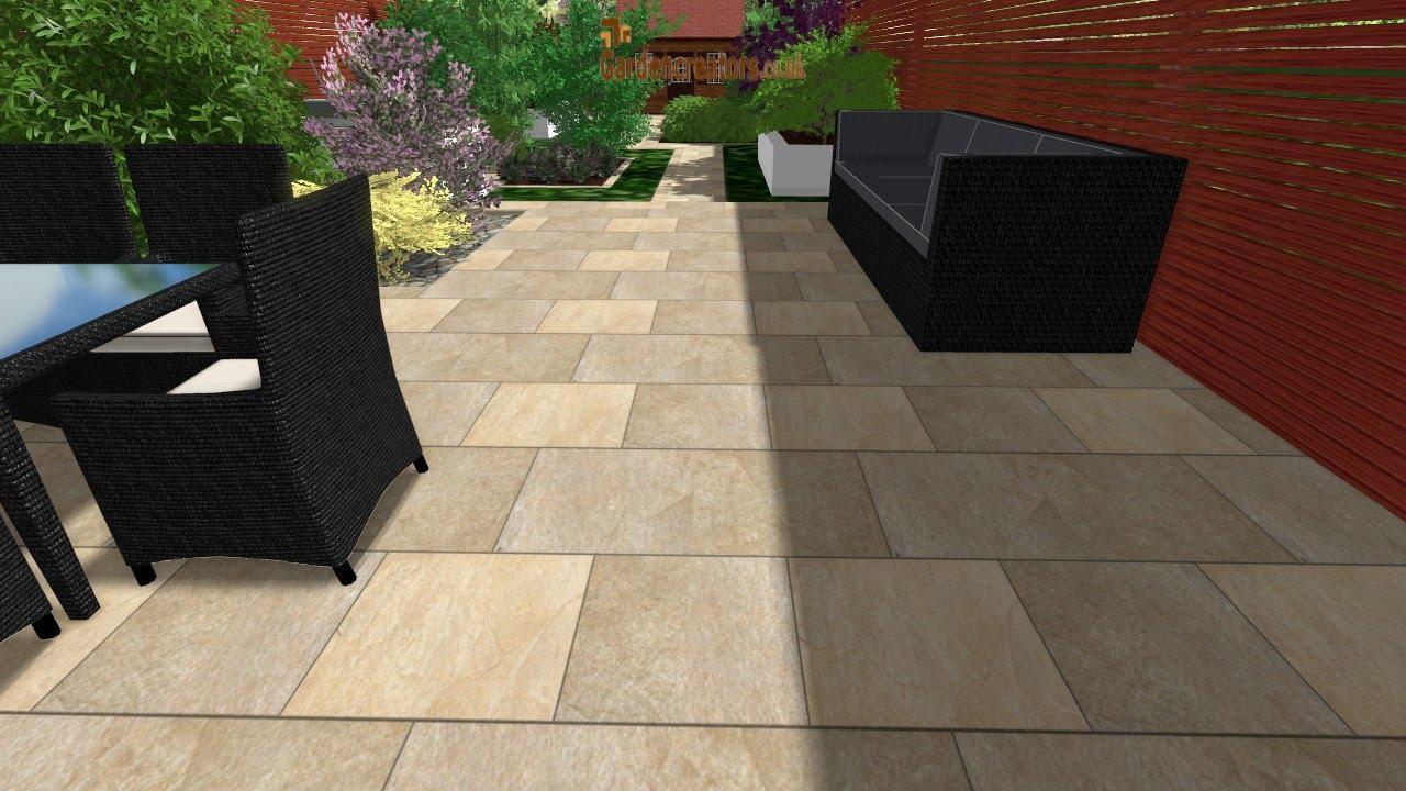 small virtual garden design free - YouTube