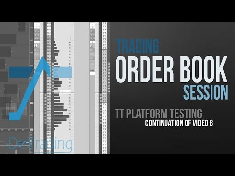 Bourse, comment trader : order book trading session by DoTrading; video 9