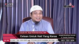 Konsultasi Masalah Syar'i - Ustadz Dr. Aspri Rahmat Azai,MA