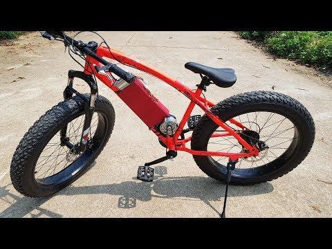DIY Electric Bike - Power Assisted Bike At Home