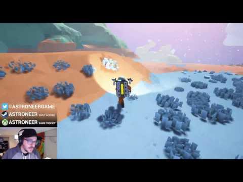 LIVE Podcast: Astroneer dev team talks current pre-alpha bugs! #creative #gamedev