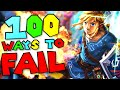 100 Ways To Fail In Super Smash Bros. Ultimate