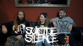 "INTERVIEW | 12 questions with ""SUICIDE SILENCE"" - BRANDEXCLUSIVE NEWS Upcoming Album/Song 2017 Doris"