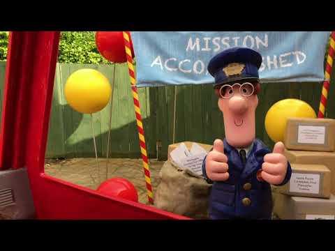 Postman Pat's Parcel Post Full Ride POV HD Walkthrough CBeebies at Alton Towers