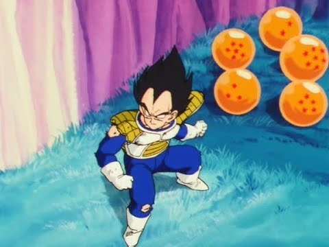 Vegeta Steals The Dragon Balls From Freiza's Ship...