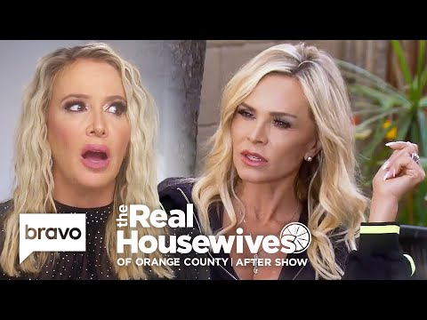 Tamra Judge Reveals The Real Source Of The Train Rumor | RHOC After Show (S14 Ep15)