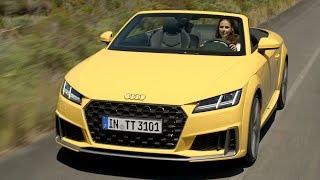 The new Audi TT Roadster (2018) - Driving, Interior & Exterior thumbnail