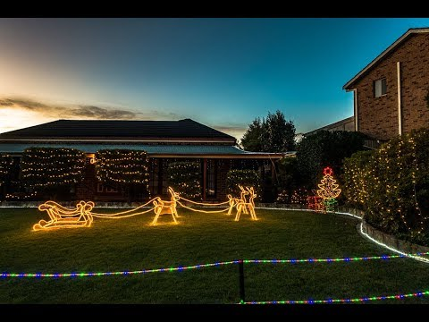 Christmas Lights 2018- Sydney (Hills District)