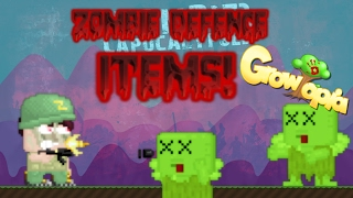 Video Growtopia - ALL ZOMBIE DEFENCE ITEMS! download MP3, 3GP, MP4, WEBM, AVI, FLV Juli 2018