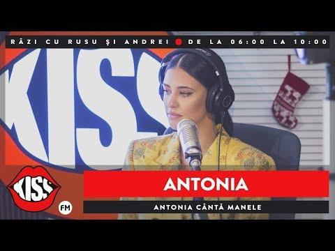 Antonia cântă manele