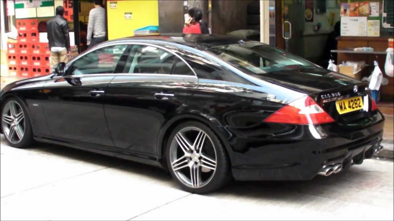 nice mercedes cls 350 amg seen in hong kong wan chai youtube. Black Bedroom Furniture Sets. Home Design Ideas