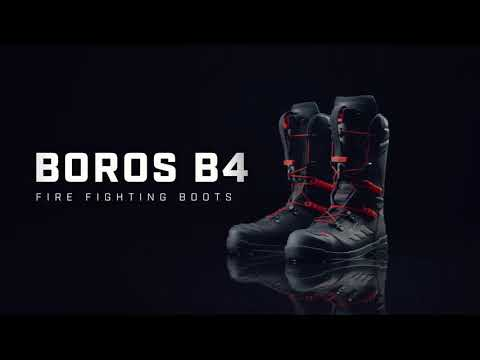 BOROS B4 Fire fighting boots - The quick release system