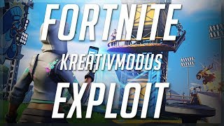 * FIXED * as you leave island in Fortnite of the creative mode! Creative mode tutorial/exploit * FIXED *.