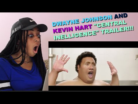 "Thumbnail: Couples React : New Trailer ""Central Intelligence"" Starring Dwayne Johnson and Kevin Hart!!"