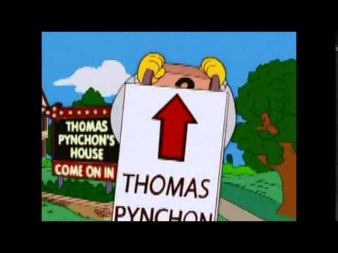 Thomas Pynchon The Simpsons Book Endorsement