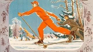 Выходной день в п.Белый ручей (лыжи, ватрушки, чаёк, шашлычёк)mp4