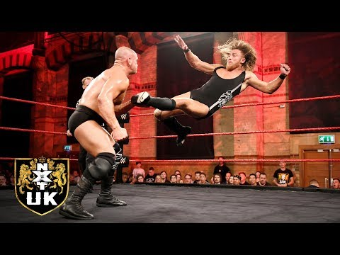 Pete Dunne vs. Danny Burch - WWE U.K. Championship Match: NXT UK, Nov. 7, 2018
