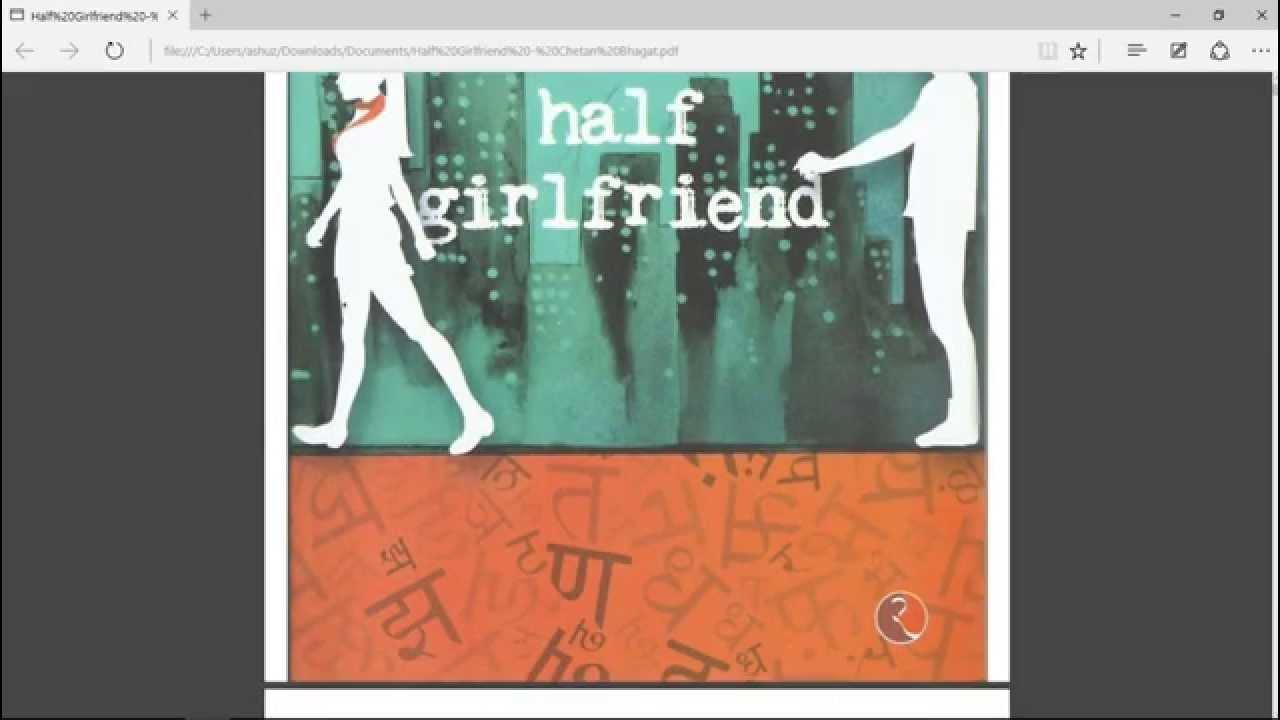 Bhagat by chetan download ebook half girlfriend