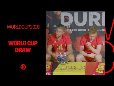 #WorldCupDraw | By Jan Vertonghen / Kevin De Bruyne / ... 🙂
