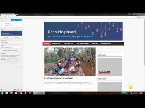Website SIdeka Wordpress Tutorial 6 Mengganti Logo & Latar Belakang thumbnail