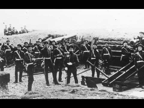 La guerra franco-prussiana, 1870.