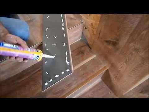 Лестница в частном доме  Отделка лестницы  Лестница своими руками  2 часть