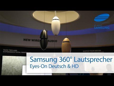 Samsung 360 Grad Lautsprecher deutsch HD