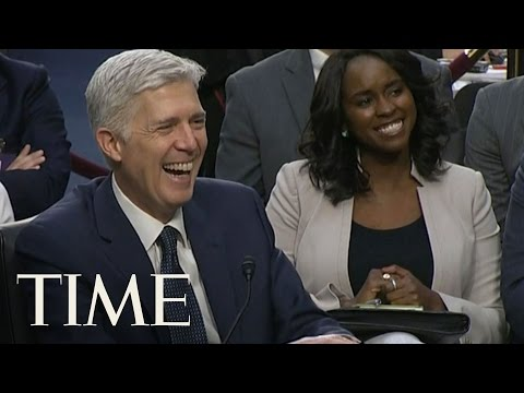 Neil Gorsuch Used The Word 'Bigly' At His Confirmation Hearing | TIME